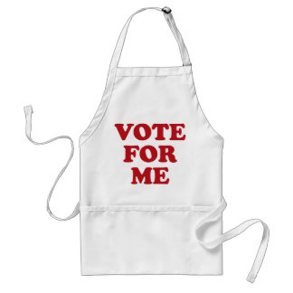 Vote For Me - Red Adult Apron