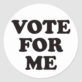 Vote For Me! Stickers