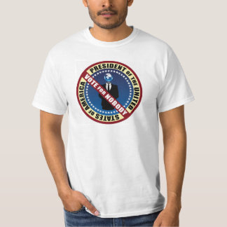 Vote for Nobody T shirt
