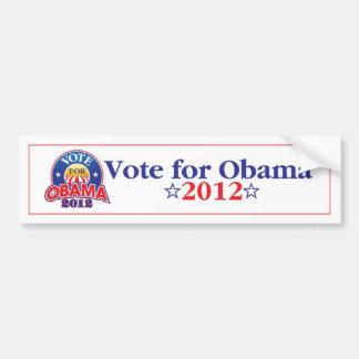 Vote for Obama 2012 Bumper Sticker