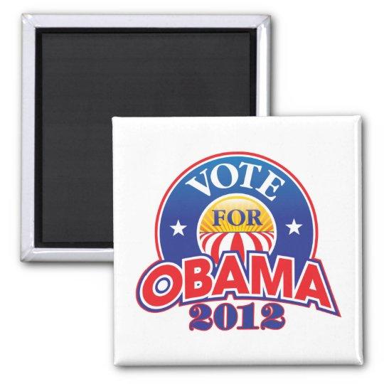 Vote for Obama 2012 Magnet