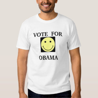 VOTE  FOR OBAMA T-SHIRTS