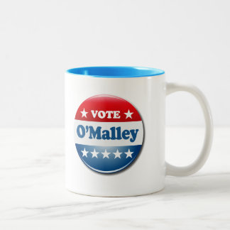 Vote for O'Malley 2016 Two-Tone Coffee Mug