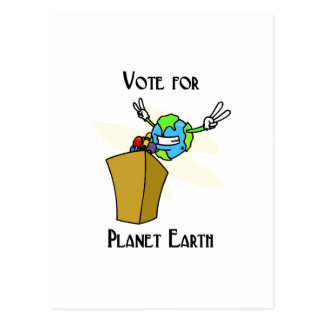 Vote for our planet postcard