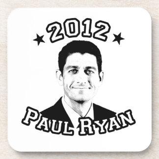 VOTE FOR PAUL RYAN 2012 DRINK COASTER