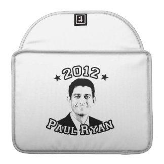 VOTE FOR PAUL RYAN 2012 SLEEVE FOR MacBooks