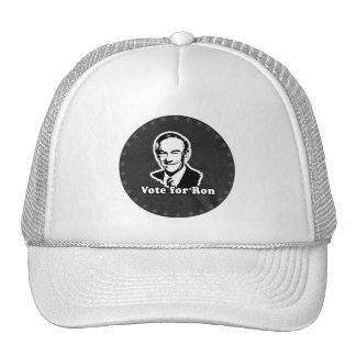 VOTE FOR RON CAP