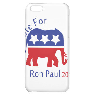 Vote for Ron Paul 2012 iPhone 5C Cover