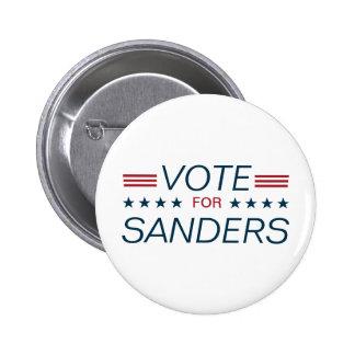 Vote for Sanders 6 Cm Round Badge