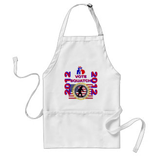 Vote for Squatch 2010 Standard Apron