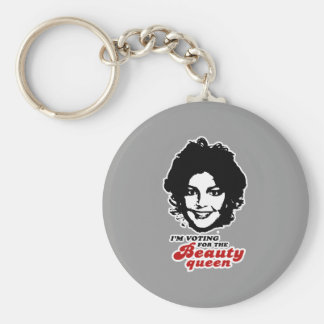 Vote for the Beauty Queen Key Chains
