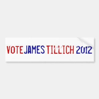 Vote For Tillich Bumper Sticker
