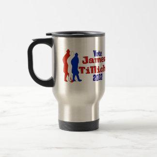 Vote For Tillich Stainless Steel Travel Mug