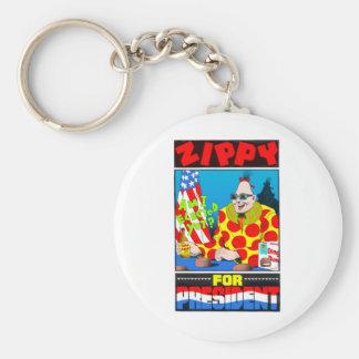 Vote For Zippy Key Ring