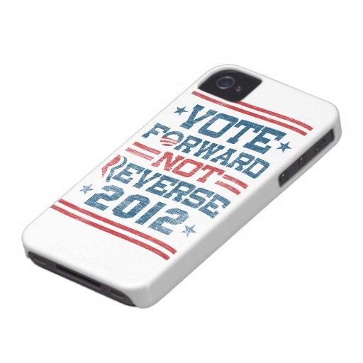 Vote Forward Not Reverse 2012 Obama iPhone 4 Case