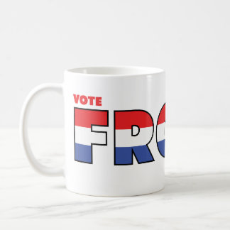 Vote Froyd 2010 Elections Red White and Blue Mugs
