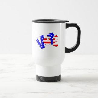 Vote - Funky Flag Style Coffee Mugs