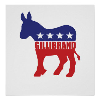Vote Gillibrand Democrat Poster