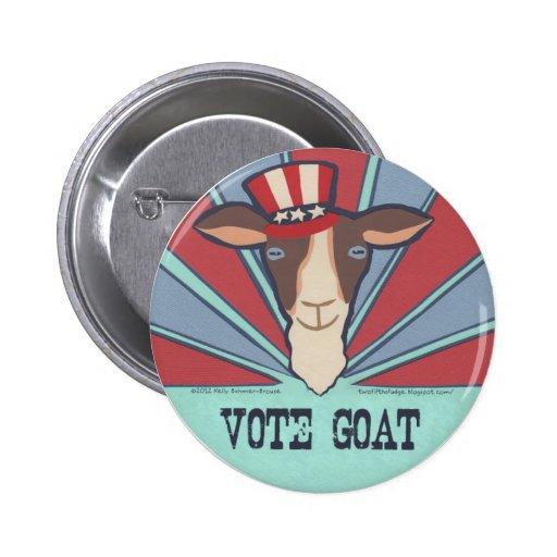 Vote Goat! Campaign Button