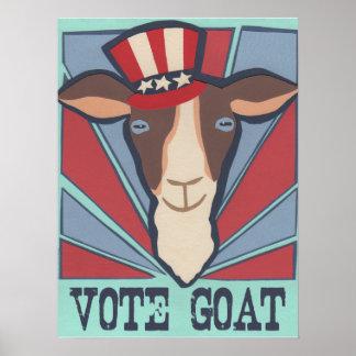 Vote Goat! Poster