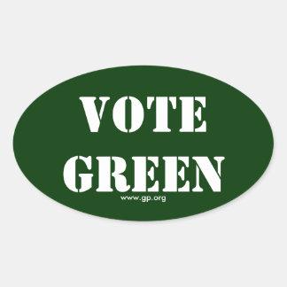 VOTE GREEN STICKERS