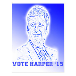 Vote Harper '15 Postcard