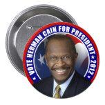 Vote Herman Cain 2012 Button