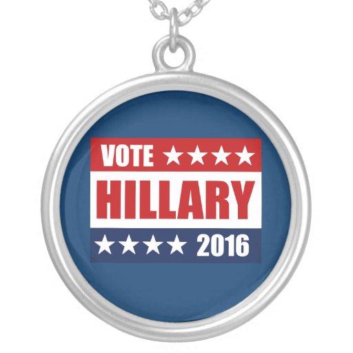 VOTE HILLARY 2016 PENDANT