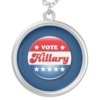 VOTE HILLARY CLINTON 2016 CUSTOM NECKLACE