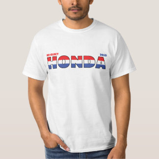 Vote Honda 2010 Elections Red White and Blue T-Shirt