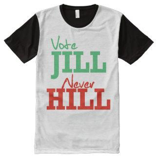 Vote Jill Never Hill - - Jill Stein 2016 - All-Over Print T-Shirt