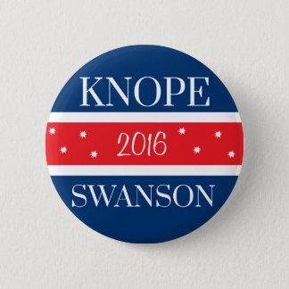 Vote Knope 6 Cm Round Badge
