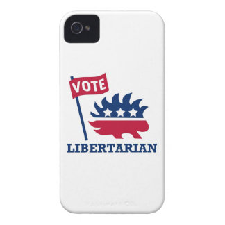 VOTE LIBERTARIAN - freedom/liberty/constitution iPhone 4 Cases