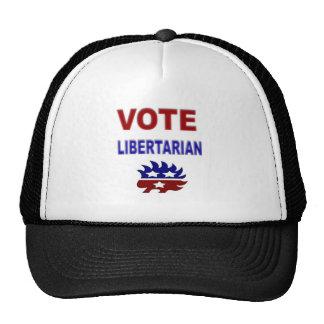 Vote Libertarian Mesh Hats