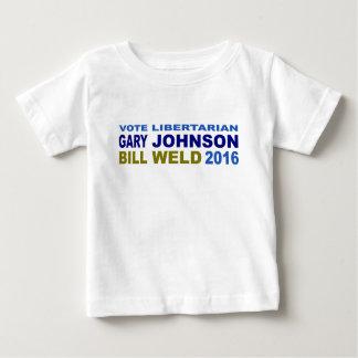 Vote Libertarian Johnson-Weld 2016 T Shirts