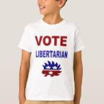 Vote Libertarian T-shirts