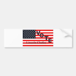 Vote Lincoln Chafee for President 2016 Bumper Sticker