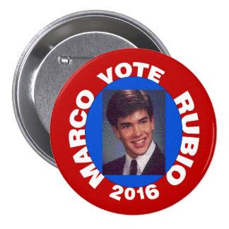 Vote Marco Rubio 2016 7.5 Cm Round Badge