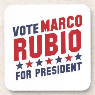 Vote Marco Rubio Drink Coaster
