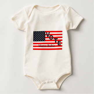 Vote Marco Rubio for President 2016 Baby Bodysuit