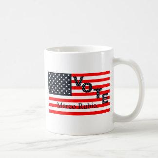 Vote Marco Rubio for President 2016 Basic White Mug