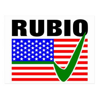 Vote Marco Rubio for President 2016 Postcard