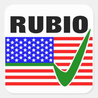 Vote Marco Rubio for President 2016 Square Sticker