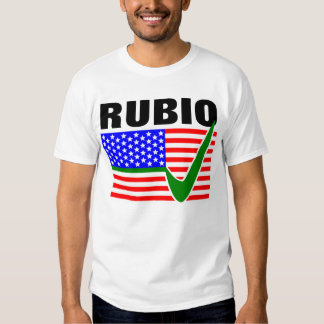 Vote Marco Rubio for President 2016 T-shirts