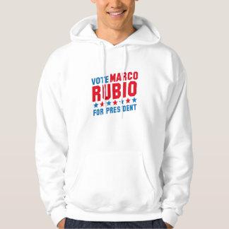 Vote Marco Rubio Hooded Sweatshirt