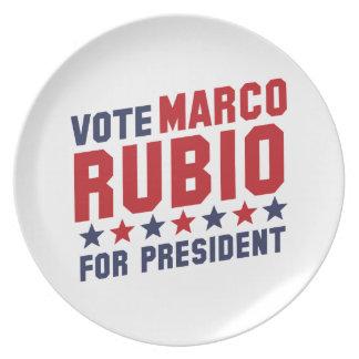 Vote Marco Rubio Plates