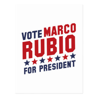 Vote Marco Rubio Postcard