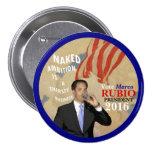 Vote Marco Rubio President 2016 7.5 Cm Round Badge