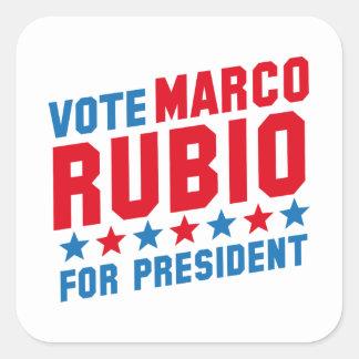 Vote Marco Rubio Square Sticker