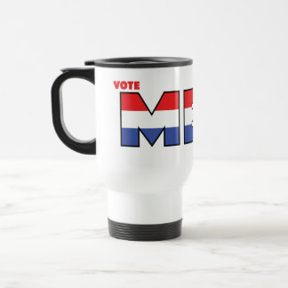Vote Meek 2010 Elections Red White and Blue Coffee Mug